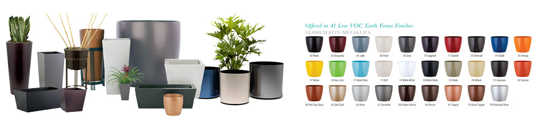 Architectural Planters All Colors