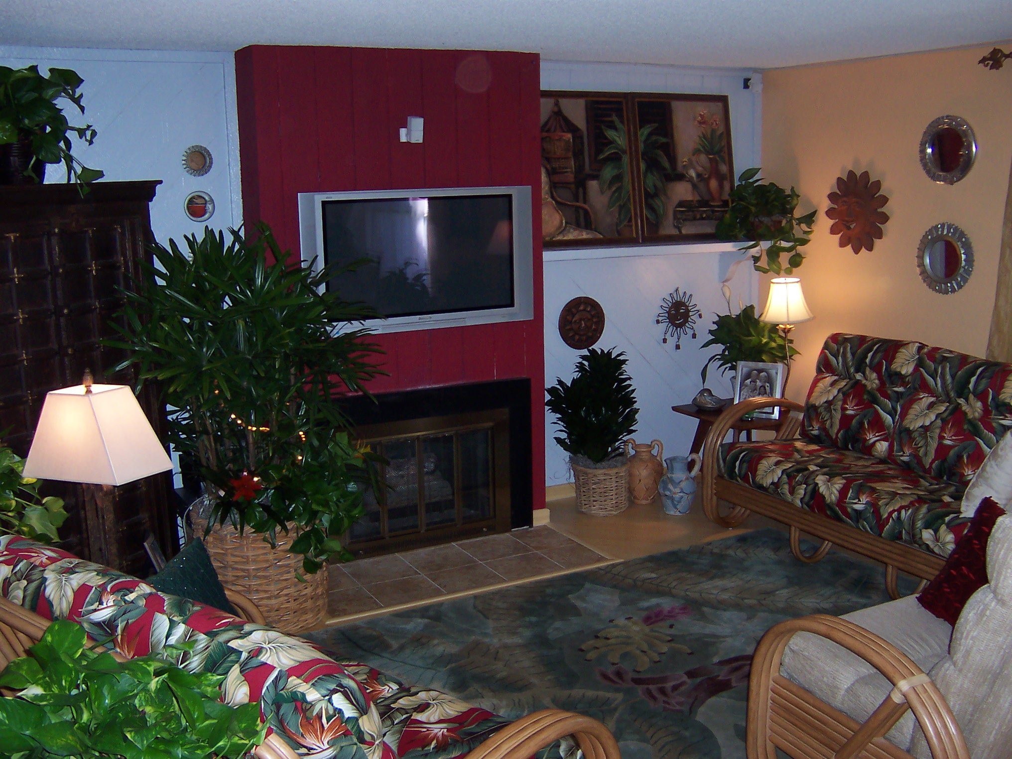 Family Room Plants - Residential Plant Service