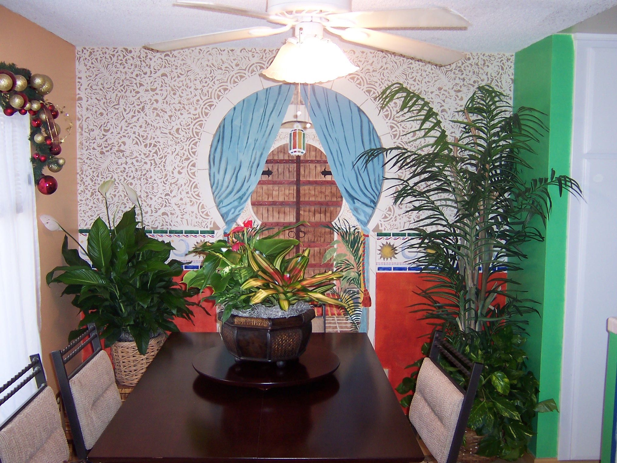 Dining Room Plants - Residential Plant Service